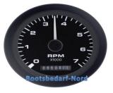 Drehzahlmesser 0-4000 RPM Diesel mit Betriebsstundenzähler Premier Pro