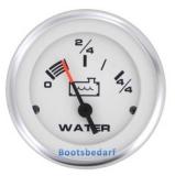 Wassertankanzeige - Water Tank Gauge  Ausführung Geber 10-180 Ohm (VDO) Lido Pro