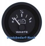 Grau Wassertankanzeige - Black Water Tank Gauge  US Ausführung Geber 240-33 Ohm (SW)   Premier Pro