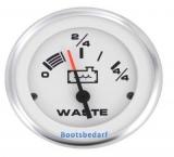Grau Wassertankanzeige - Black Water Tank Gauge  US Ausführung Geber 240-33 Ohm (SW) Lido Pro