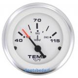 Wassertemperatur Anzeige VDO Ausführung  40 - 120° C Lido Pro