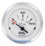 Öldruckanzeiger: Lido Pro  (SW) 0-100 psi Anzeige