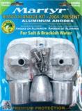 Bravo III 2004 bis heute Anoden Set Aluminium