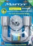 BRAVO II  1989 bis heute und BRAVO III 1989 bis 2003  Anoden Set  Magnesium