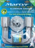 BRAVO II  1989 bis heute und BRAVO III 1989 bis 2003  Anoden Set  Aluminium