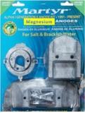 Alpha 1  Gen 2 1991 bis heute   Anoden Set Magnesium