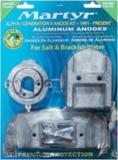 Alpha 1  Gen 2 1991 bis heute   Anoden Set  Aluminium