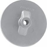Anode Mercury Platte Finnanode REF 762145 Zink