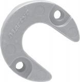 Anode für Motorfuß Mercruiser Alpha 1 Gen II REF 806189 Zink