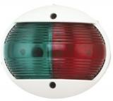 LED Positionslaternen runde Ausführung rot/grün, 2 x 112,5°