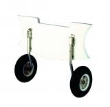 NIRO Transporträderkit für Schlauchboot, max. 150kg  Klappbar