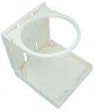 Getränkehalter klappbar, Farbe weiß.