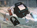 Elektro Winde 12 V Lasten bis ca. 2722 kg Roll- Last