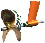 Tauschneider für Propellerwelle  22mm