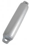 Standard Fender mit zwei Augen Ø 160 x 600mm Silber