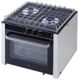 Niro Einbau-Gas Ofen mit 2 Brennern