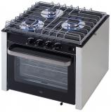 Niro Einbau-Gas Ofen mit 3 Brennern