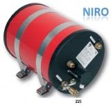 Warmwasserspeicher Rund, NIRO  Leistung 1200W Inhalt 22Liter
