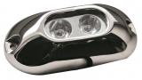 LED-Unterwasserscheinwerfer für Badeplattformen / Heckspiegel / Kiel 2x3 W weiß