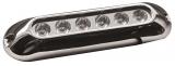 LED-Unterwasserscheinwerfer für Badeplattformen / Heckspiegel / Kiel 6x3 W weiß