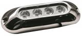 LED-Unterwasserscheinwerfer für Badeplattformen / Heckspiegel / Kiel 4x3 W blau