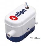 Auto. allpa Bilge Pumpe Leistung 1,8A 32L/min 500 GPH 32 L