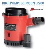 Bilgepumpe L2200mit Rückschlagventil von Johnson 12V