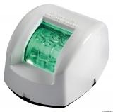 Mouse LED-Navigationslichter bis 20m Bootslänge Gehäuse weiß Steuerbord grün