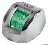 Mouse LED-Navigationslichter bis 20m Bootslänge Gehäuse Edelstahl Steuerbord grün