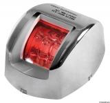 Mouse LED-Navigationslichter bis 20m Bootslänge Gehäuse Edelstahl Backbordbord rot