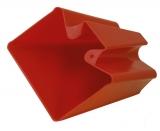 Wasserschaufel Rot aus Kunststoff Ösfass sehr flexiblem Kunststoff