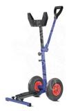 Motor Bock mit Klapprädern verzinktem Vierkantrohr bis 60Kg