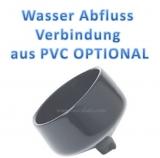 Wasser Abfluss Verbindung aus PVC
