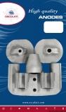 Yanmar Anode Set für Heckmotoren Magnesium