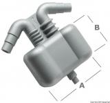 Wassersammler, Abscheider für Stromerzeuger Gas Wasser Funktioniert auch als Schalldämpfer