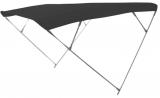 Sonnentop Wilma mit 4 Bögen ALU 25mm Breite 240cm schwarz