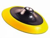 Sea Line POLIERTELLER KLETT gelb-schwarz Durchmesser 150 mm
