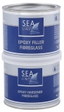 Sea Line EPOXID SPACHTEL MIT GLASFASER 1:1 750g