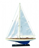 Holz-Modellboot ENTERPRISE Maße 50 x 7,5 x 68 cm