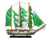 MODELLBOOT HUMBOLD Maße 85 x 15 x 74 cm