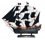 MODELLBOOT BLACK PEARL Maße 52 x 11 x 47 cm