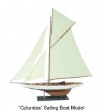 Holz Modellboot COLUMBIA Maße 120 x 17 x 128 cm