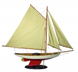 MODELLBOOT BERMUDA SCHALUPPE Maße 96 x 14,5 x 86 cm