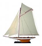 MODELLBOOT SCHALUPPE Maße 135 x 17 x 150 cm