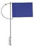 Verlicker mit Seitenhalter und blauen Tuch 150mm mit Gegengewicht