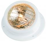 Leuchte für Badeplattform aus weißem ABS, wasserdicht  Ausführung  gekippt  Typ  12 V  35 W