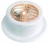 Leuchte für Badeplattform aus weißem ABS, wasserdicht  Ausführung  gerade  Typ  12 V  35 W