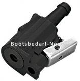 Anschlussdose Yamaha, Motor oder Tank  Schlauchanschluss  10 mm.