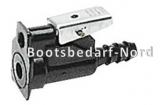 Anschlussdose, Suzuki Motor- oder Tankseite  Schlauchanschluss  10 mm.