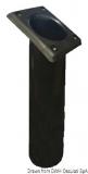 Angelrutenhalter aus UV-beständigem Polypropylen quadratisch 240mm schwarz